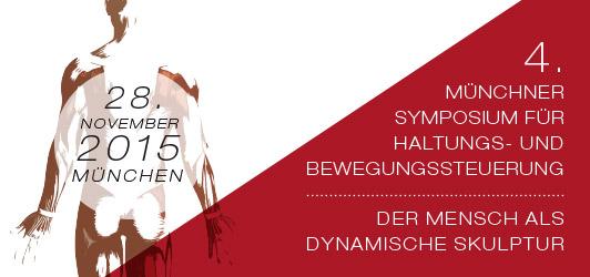 Symposium zur Haltungs- und Bewegungssteuerung 2015